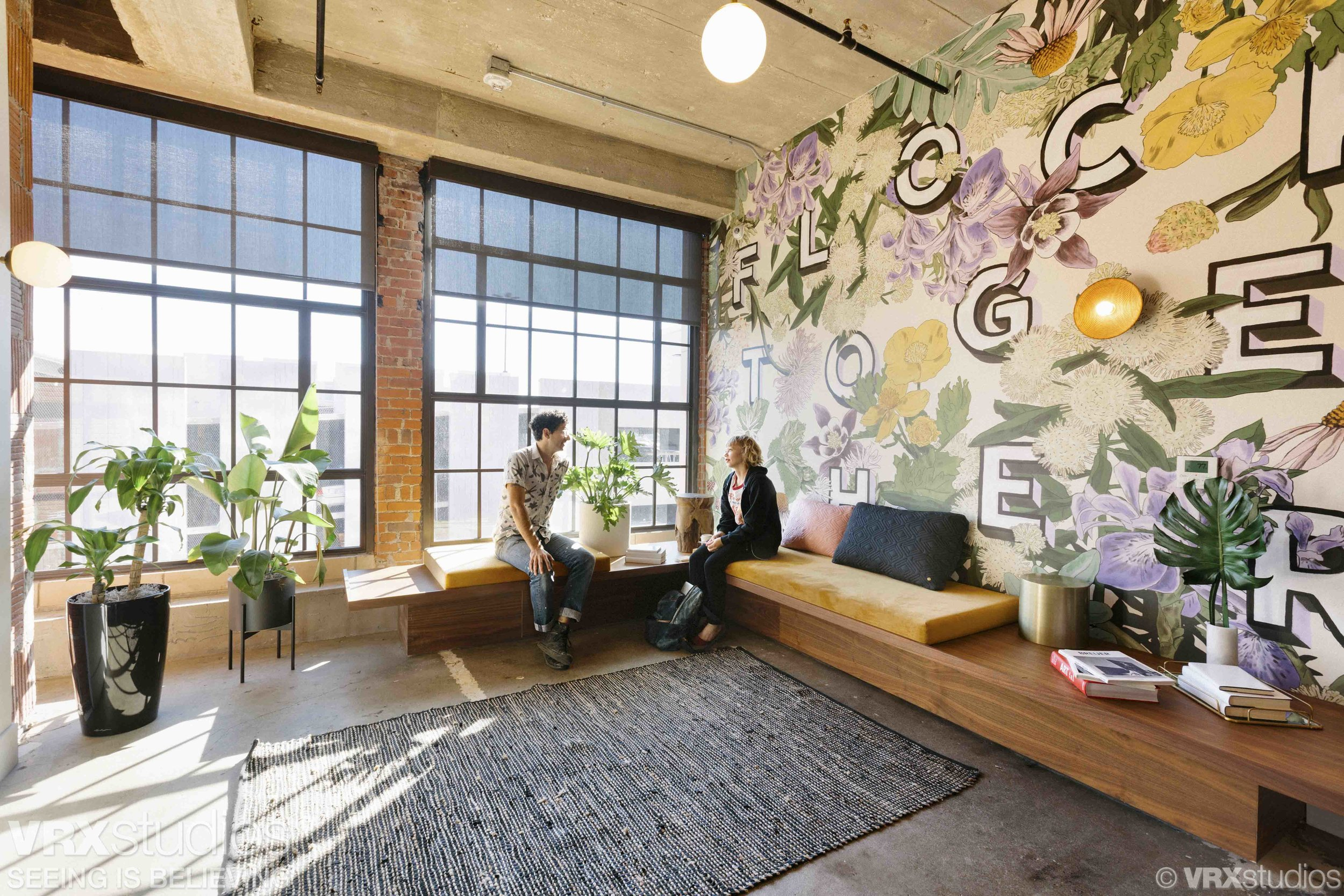 Client : VRX Studios //  Project : WeWork Corrigan Station Kansas City //  Produced by:  VRX Studios