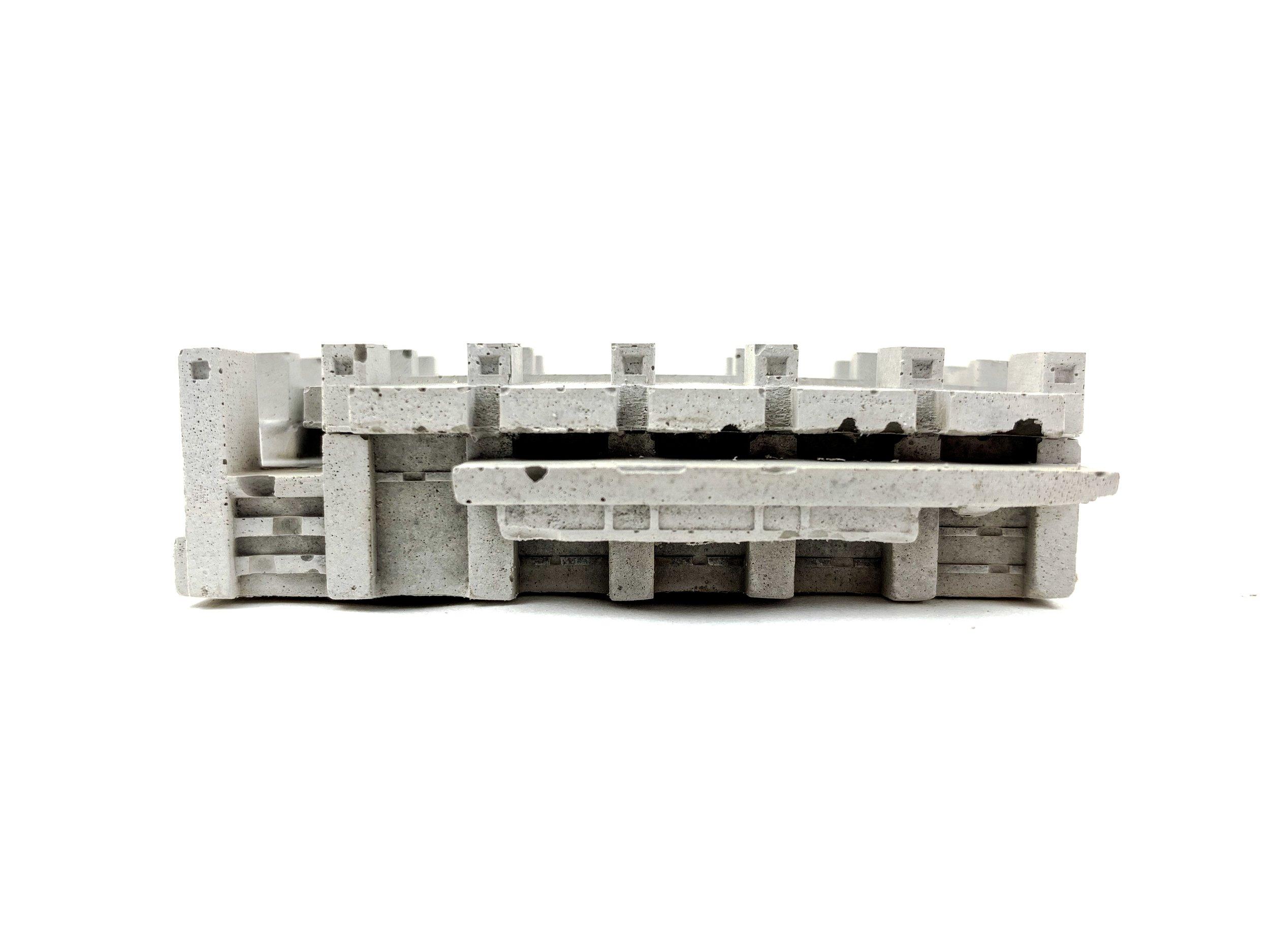 Our mini Concrete Barbican Centre sculpture