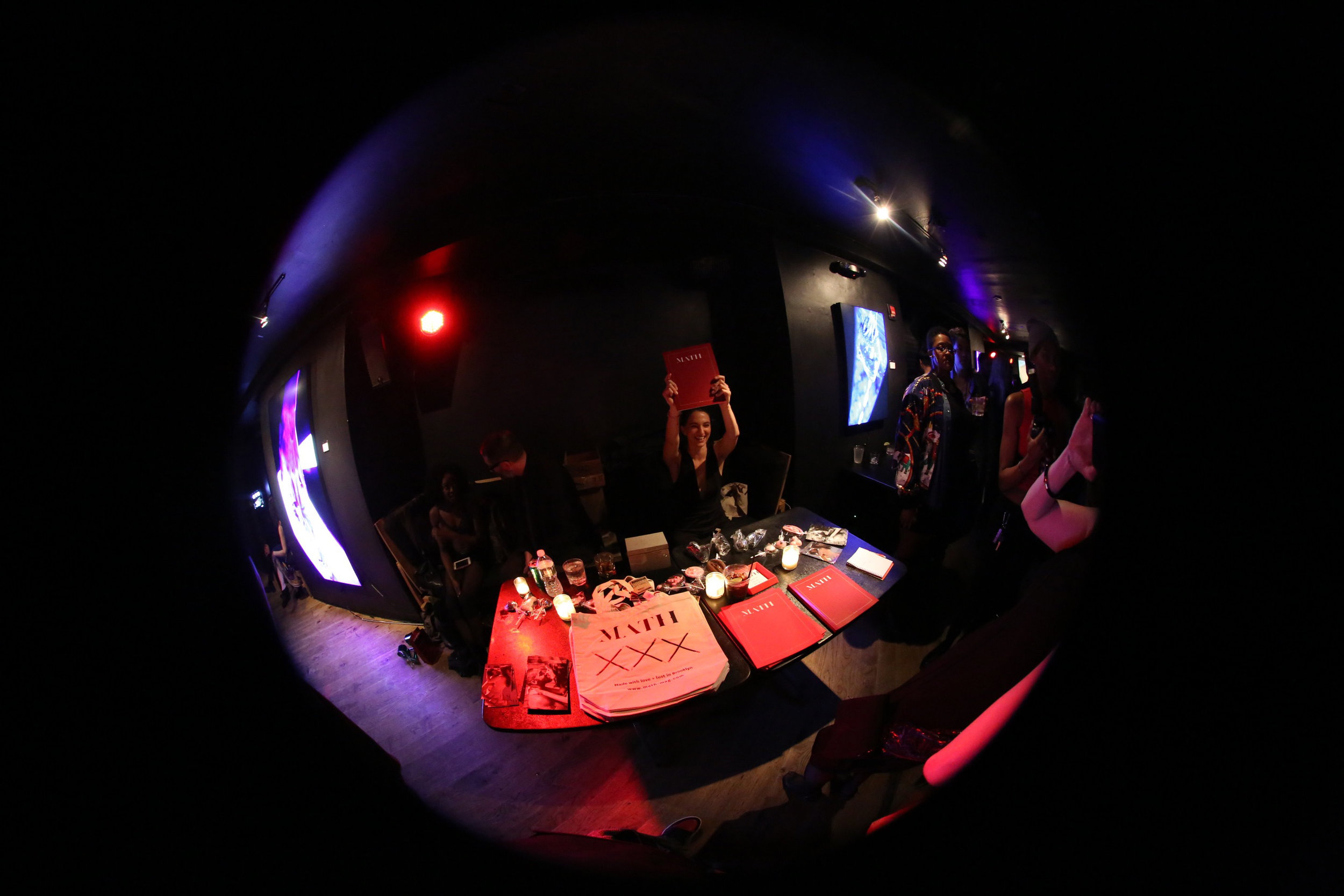 Photo by Always Goody at the Math Magazine Issue Four Release Party & 1st Birthday Celebration