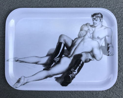 Tom of Finland , Wooden Tray,  $32.00