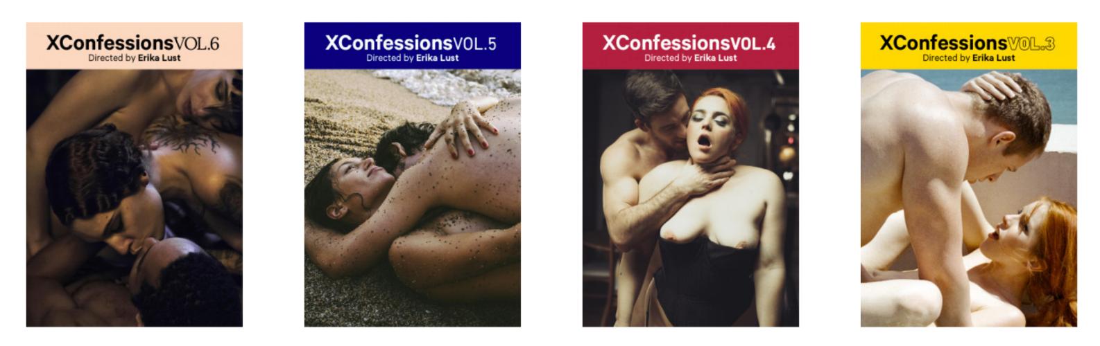 Erika Lust , XConfessions, 1-year membership,  $99.95