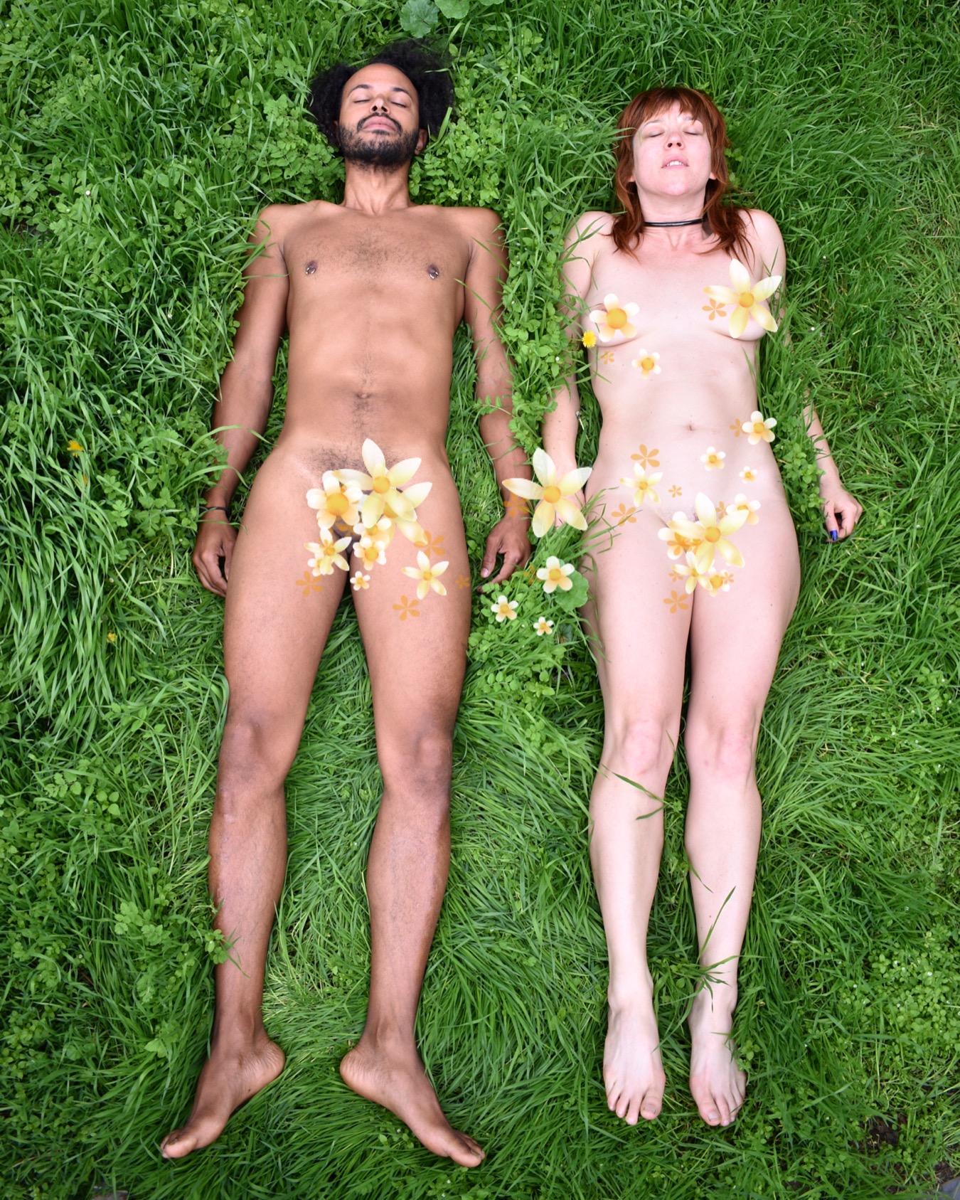 Themba and Genevieve (photo courtesy of Sacred Sadism)