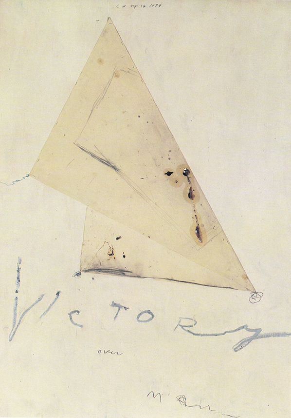 Cy Twombly   Victory, 1984