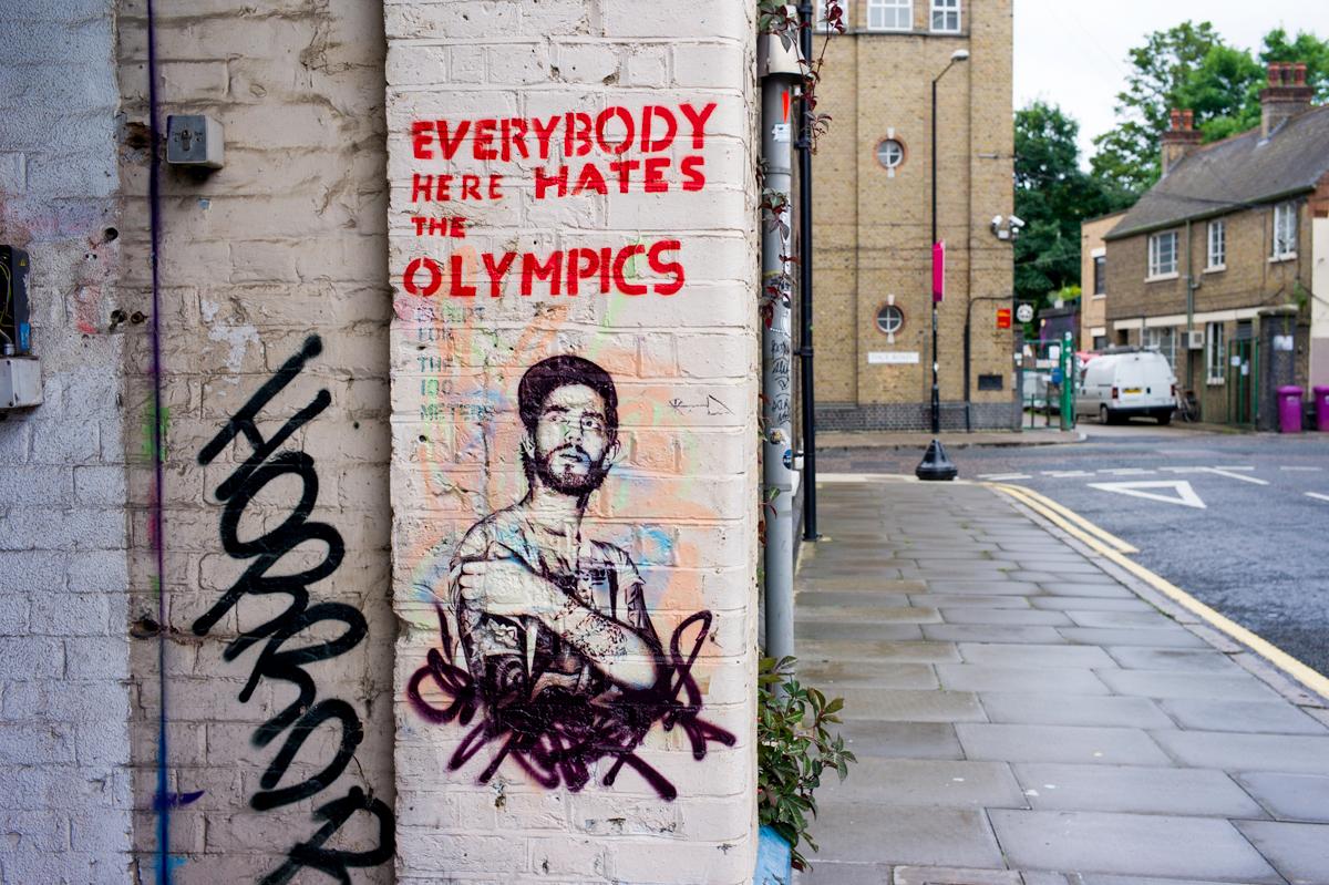 Street Art, Hackney Wick, London.