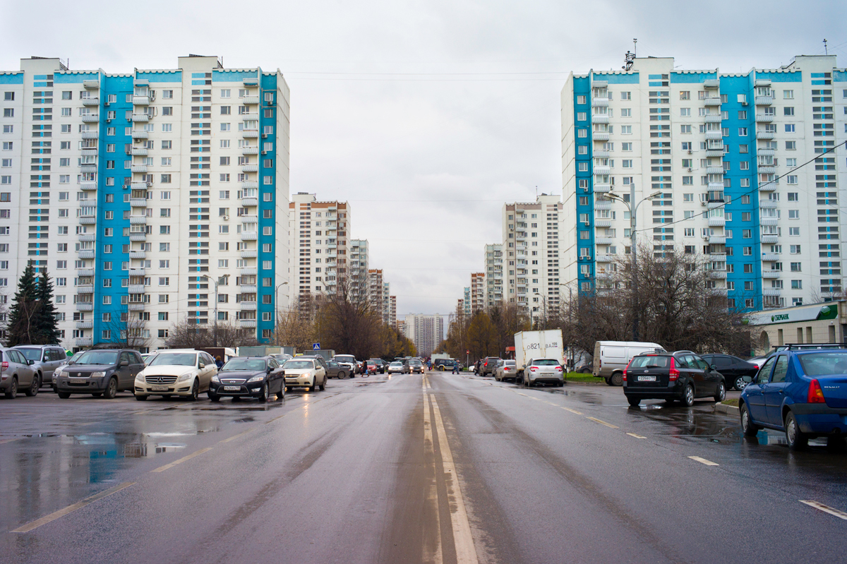 Olympic Village, Moscow.