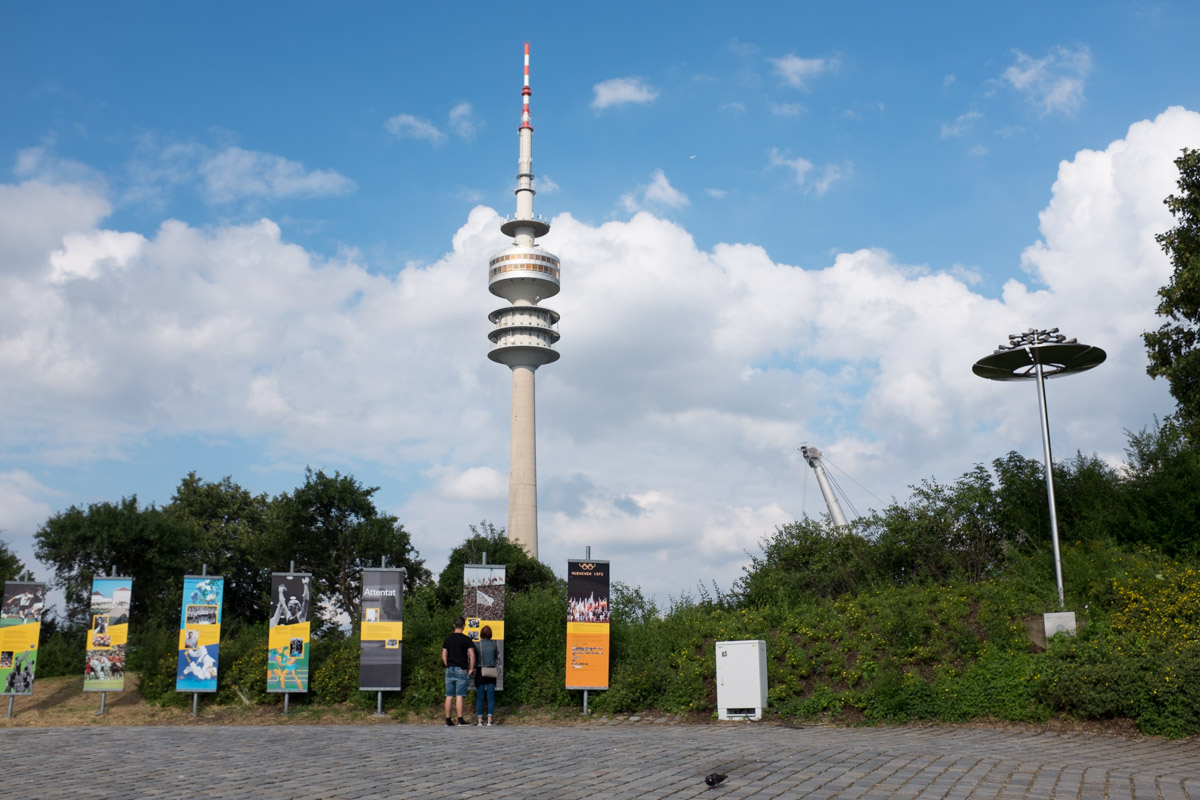 Signage, Munich Olympic Stadium