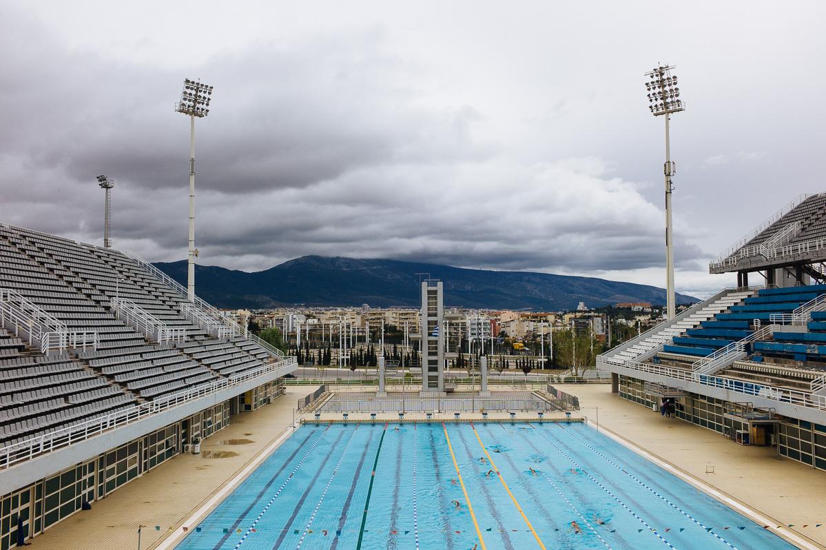 Olympic Aquatic Center, OAKA, Athens