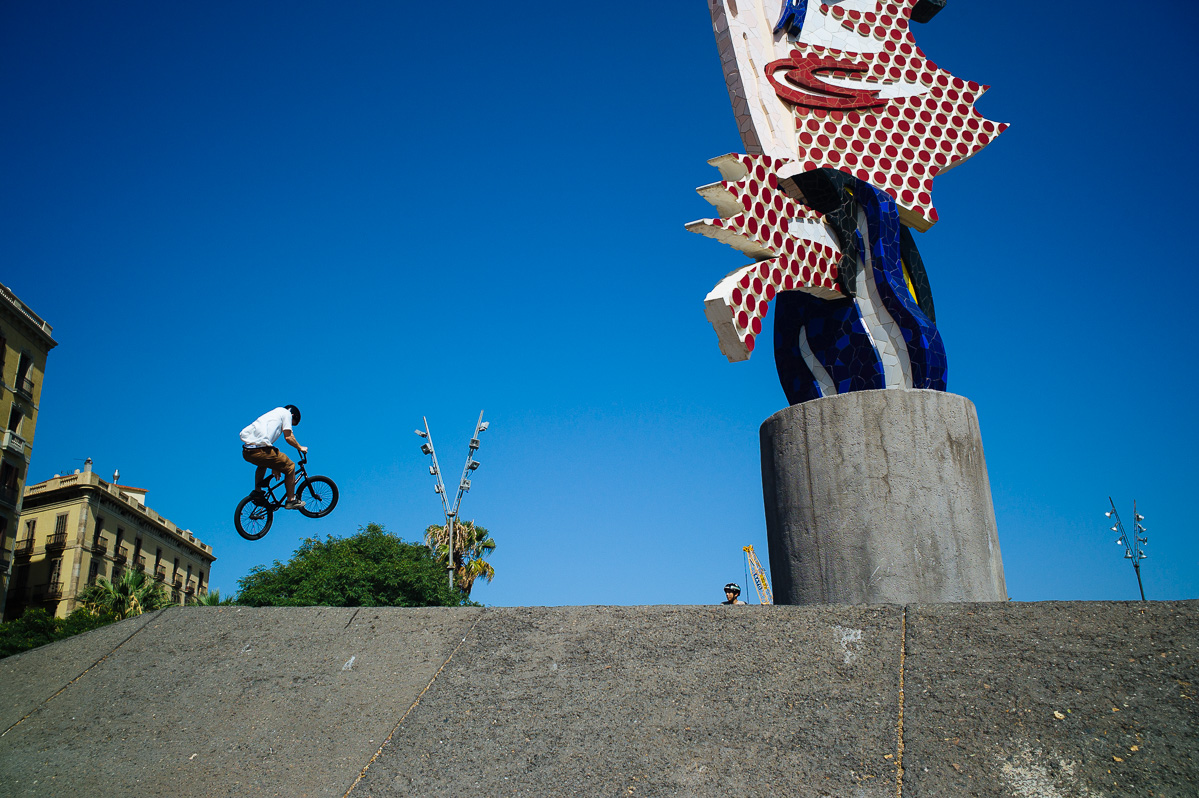 Roy Lichtenstein Head, Barcelona