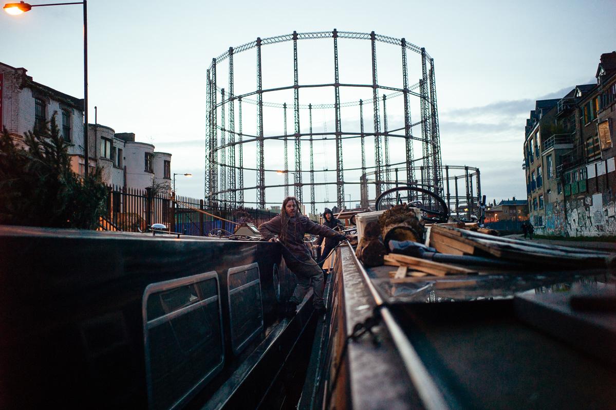 Ben's Narrowboat, Bethnal Green, London