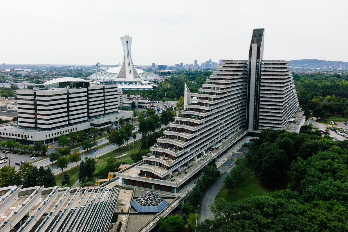 Olympic Pyramids (Olympic Village), Montreal