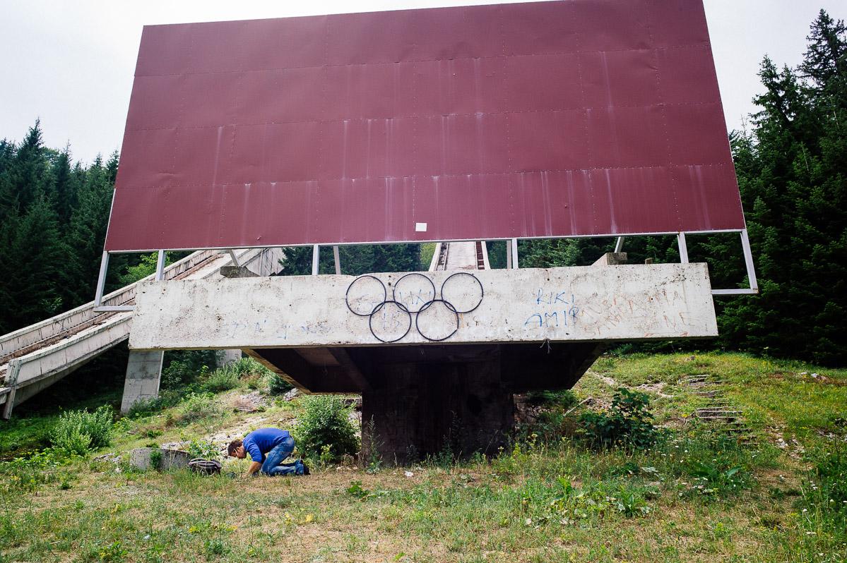 Olympic Ski Jumps, Igman Mountain, Sarajevo
