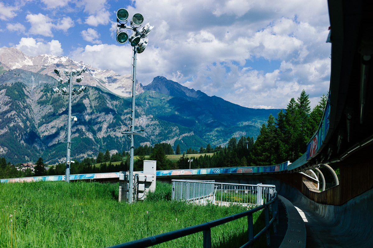 Bobsleigh Track,Cesana Pariol