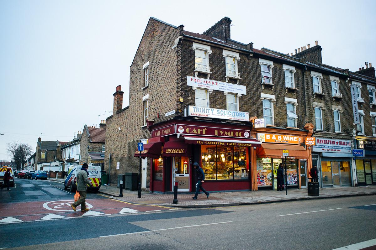 Cafe _lympic, London