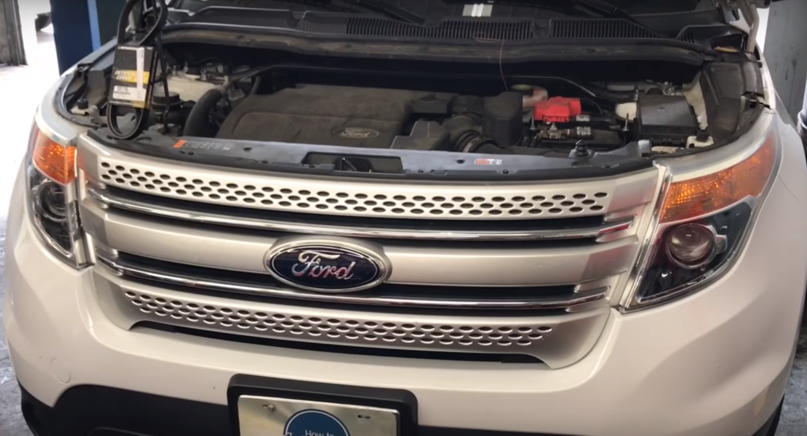 How To Replace The Serpentine Belt On A 2011 2017 Ford Explorer With 3 5l Engine How To Automotive