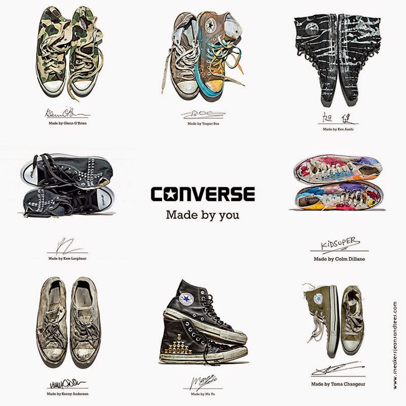 CONVERSE - MADE BY YOU — Rosie Apps