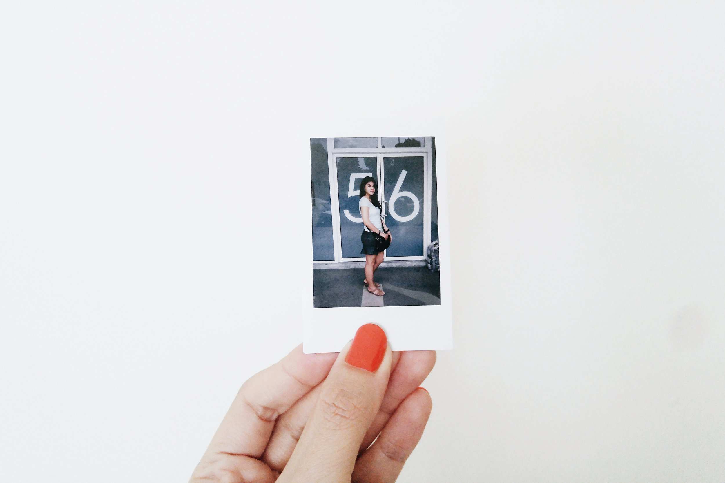 the start to my week - an hour at the bank before fooling around with my instax camera. Ken refused to be the subject, as always.