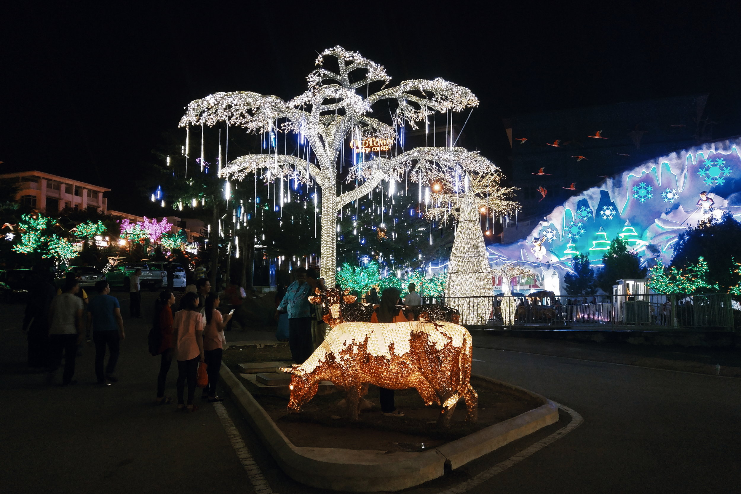 did i mention illuminated cows?
