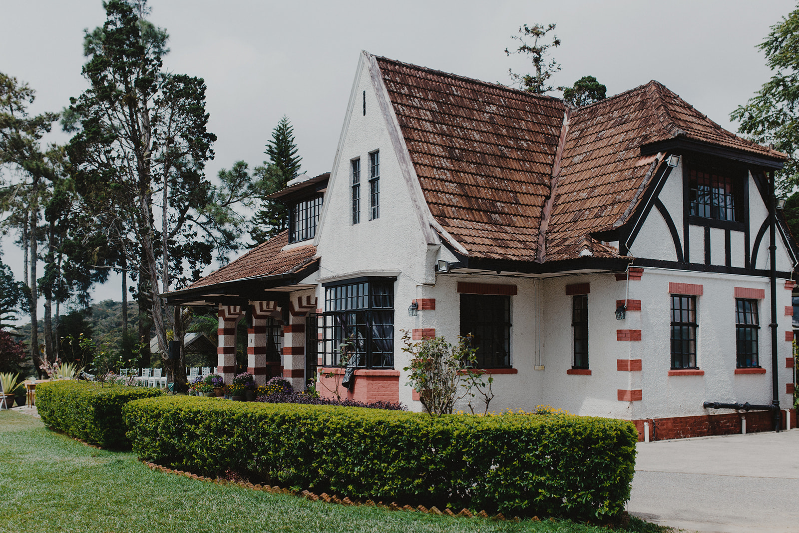 our venue is the charming  jim thompson cottage  in  brinchang, cameron highlands.