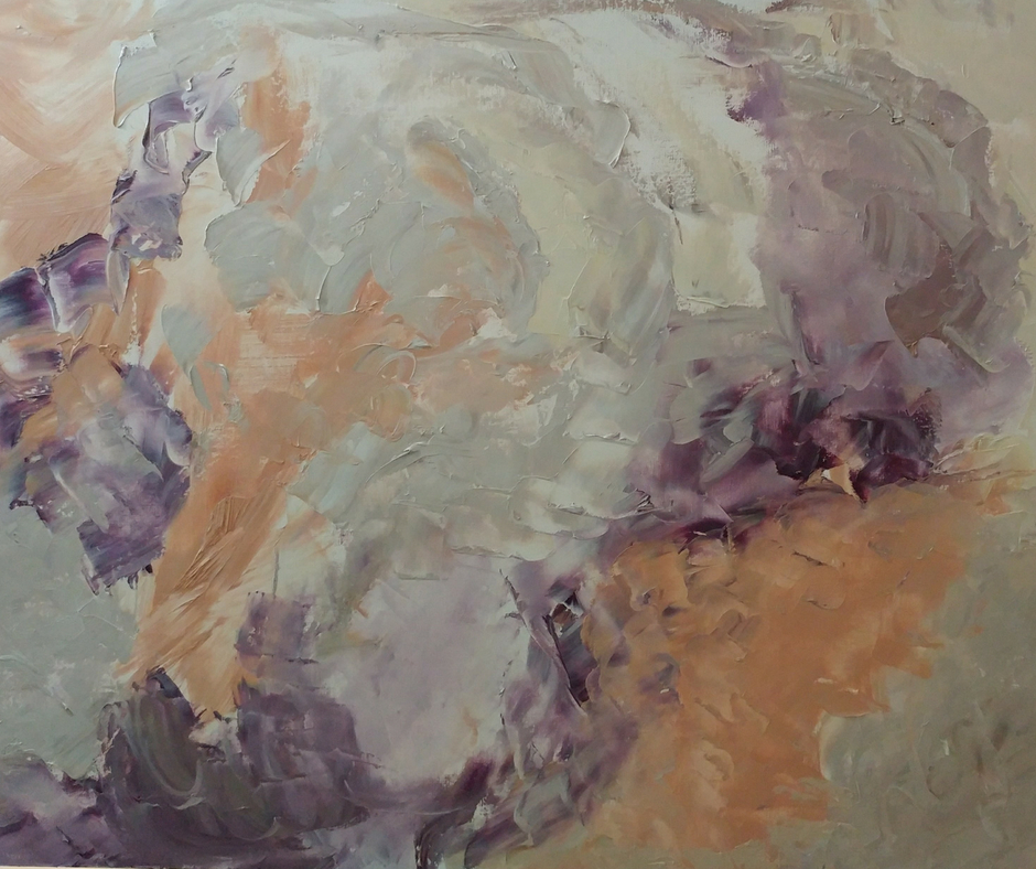 Bev Alldridge work in progress abstract