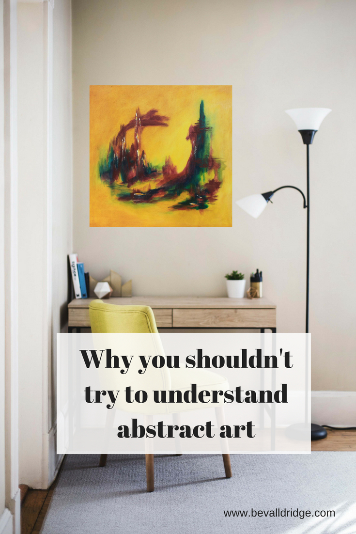 "20""x 20"" Abstract 34 Oil CAD$650 Bev Alldridge"