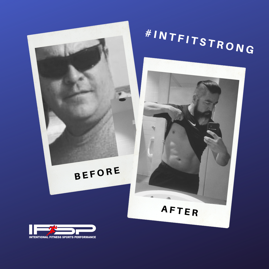 Hector Alvarez   I don't want to brag about myself but I can say I look totally different than what I did 4 years ago. I've been working out at Intentional Fitness Sports Performance since day one. Change doesn't happen immediately, but if you stick to it, it does happen.