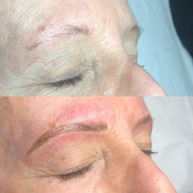 Fav transformation of the week ✨ for appointments call Tigerlily 805-541-9911 💖 #brows #eyebrowtattoo #eyebrows #browsonfleek #browgame #newbrows #hairstrokes #microblading #microstroking #permanentmakeup #spmu #slo #805 #sanluisobispo #natural #shareslo #tigerlilysalon #centralcoast #eyebrowembroidery #browembroidery #3deyebrows #3dbrows #6dbrows #archaddicts #bentonbrows #softap #softapbrows #powderbrows #healedbrows