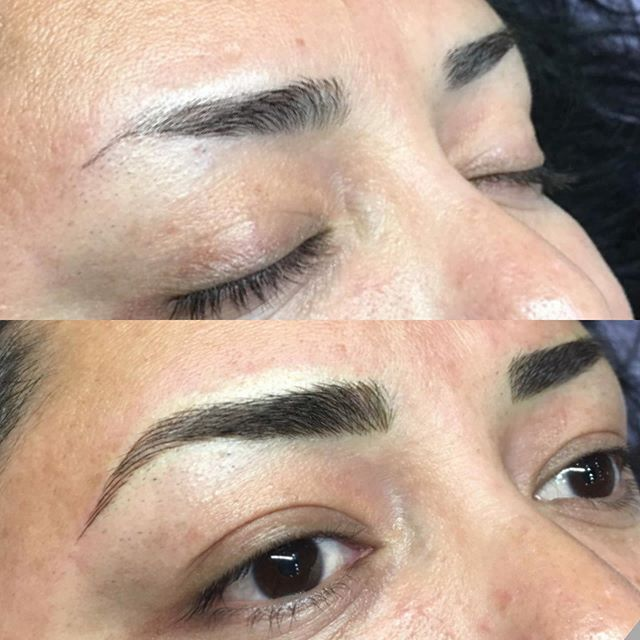 Hi extra 10 minutes gained from not having to draw half of your brow on everyday ✨ ✨ #brows #eyebrowtattoo #eyebrows #browsonfleek #browgame #newbrows #hairstrokes #microblading #microstroking #permanentmakeup #spmu #slo #805 #sanluisobispo #natural #shareslo #tigerlilysalon #centralcoast #eyebrowembroidery #browembroidery #3deyebrows #3dbrows #6dbrows #archaddicts #bentonbrows #softap #softapbrows #powderbrows #healedbrows
