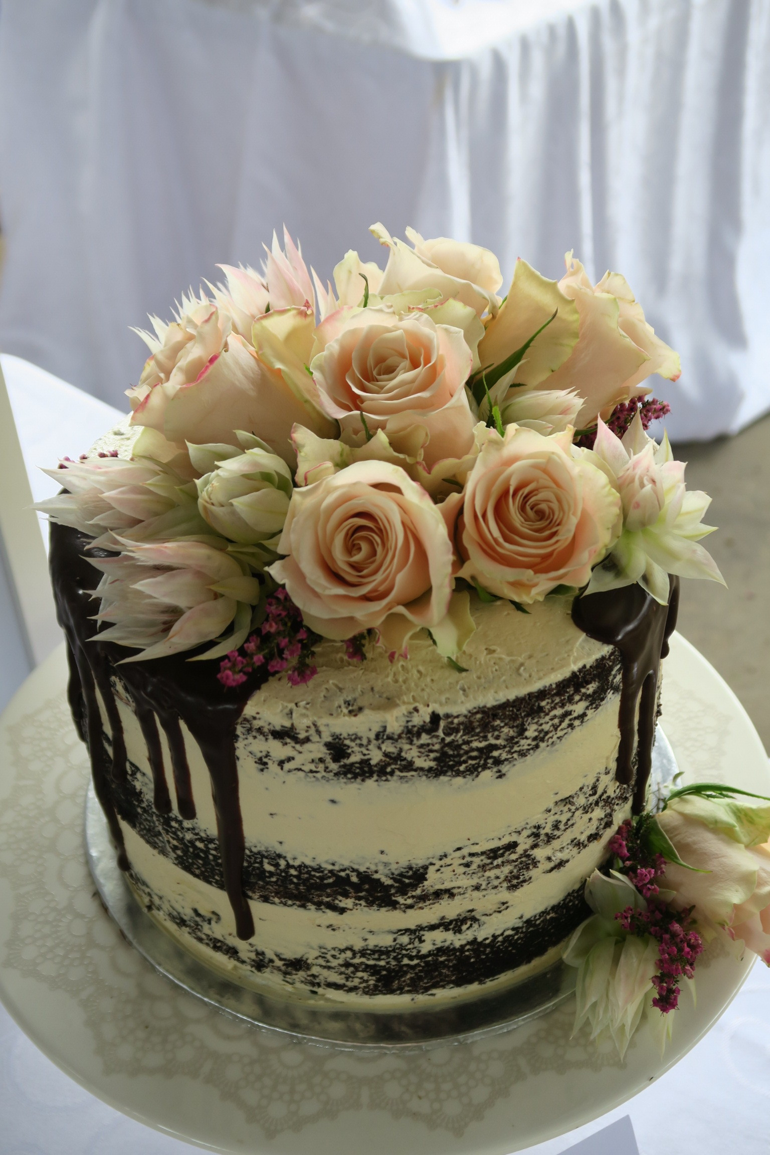 Chocolate cake with espresso infused buttercream.JPG