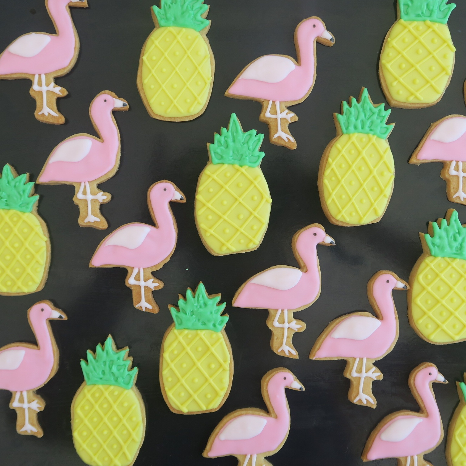Pineapples and Flamingos.jpg