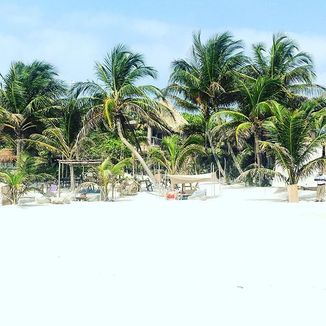 The Beach at The Nomade Tulum, Mexico
