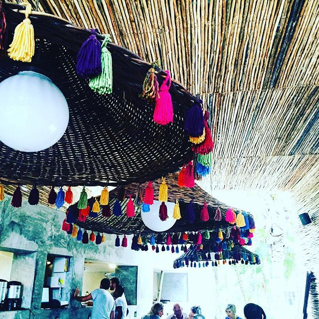 Tassels , Fringe at the Nomade Tulum, Mexico
