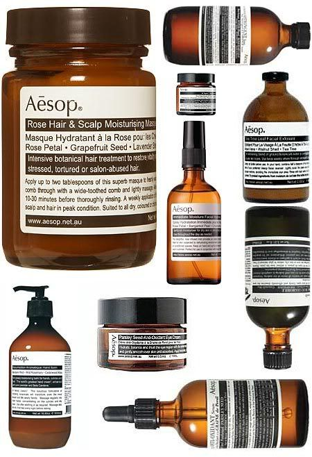 Aesop Beauty Packaging