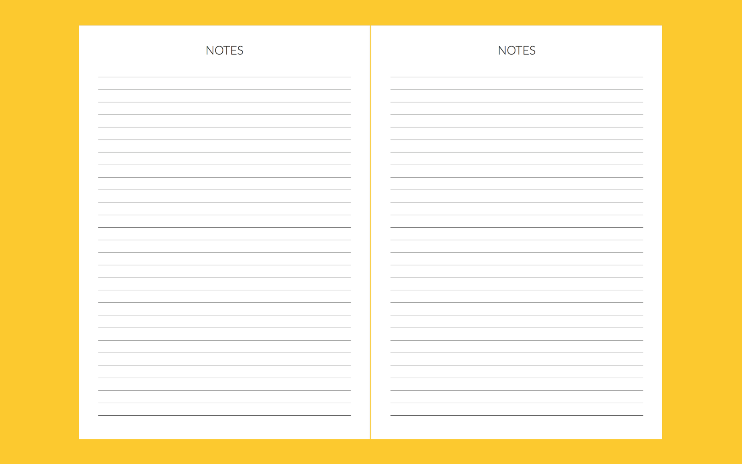 We all have notes to write, right?  And it's also great for jotting down things that are happening the next year that you have no space in the planner for at that moment.