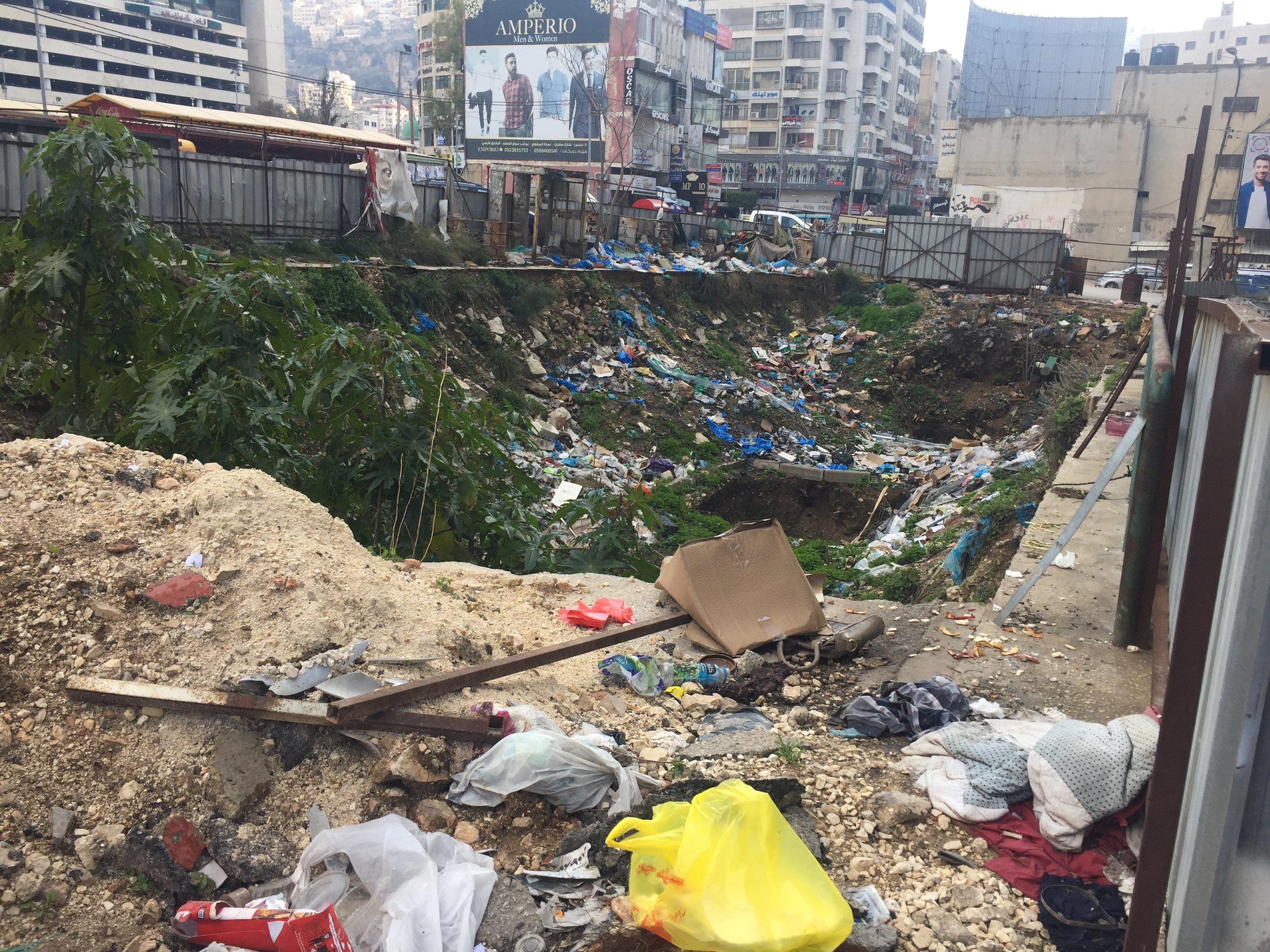Try Wonder Erasmus Exchange Israel - Nablus in 10 Images 9 - dumping ground for trash