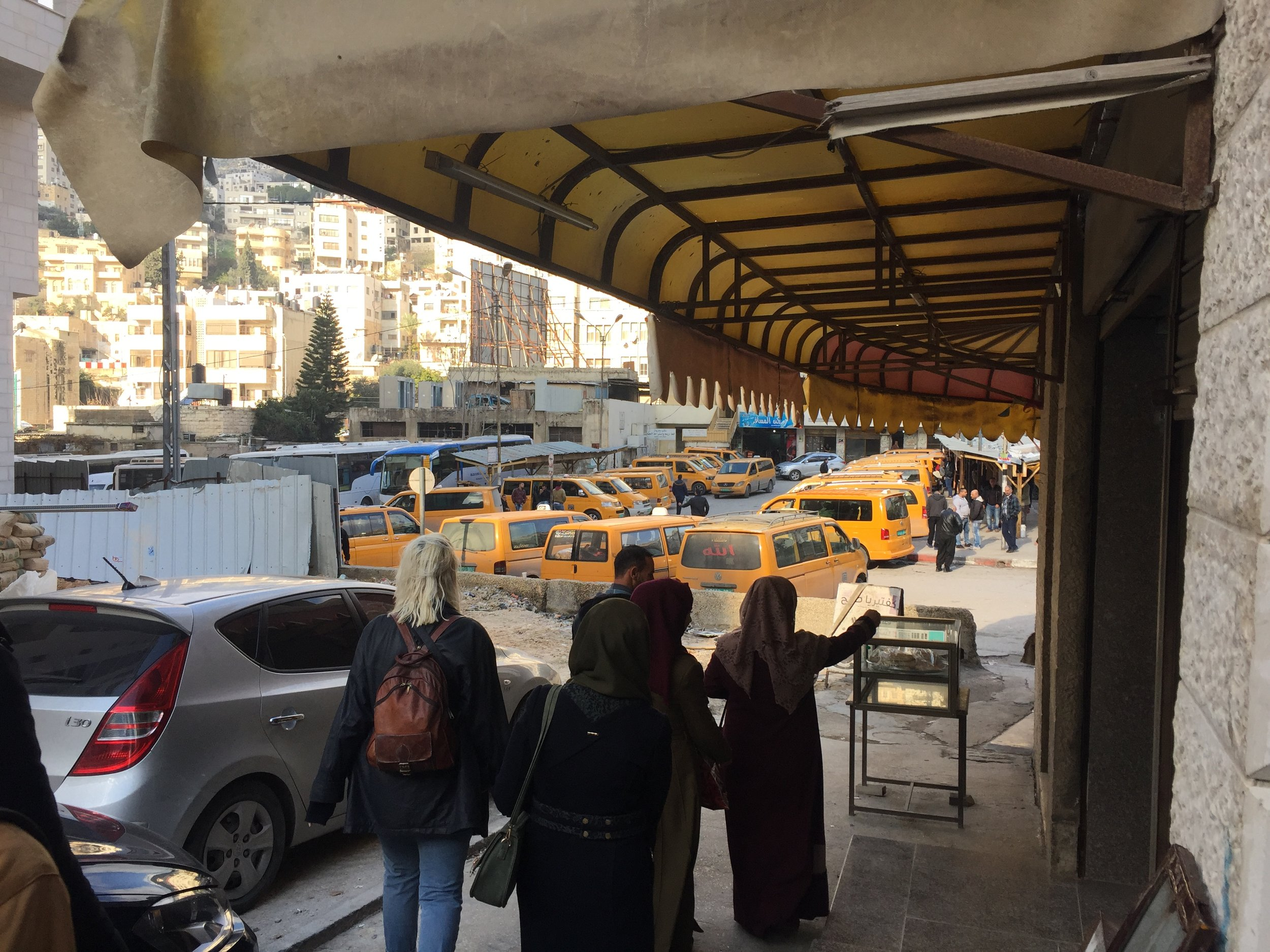 Try Wonder Erasmus Exchange Israel - Nablus in 10 Images 10 - shared taxi stand
