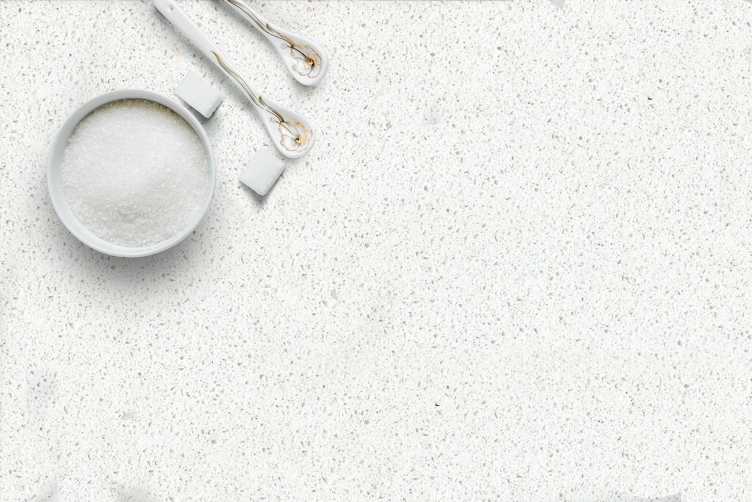 CQ712 Cotton White Close Up