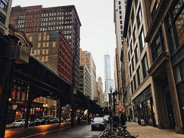 So many cool points for Chicago. Walking around exploring the city and almost breaking my neck looking at all the high rises. What a beautiful city, not to mention there's a river running right through it!!! I'll be back. 💙