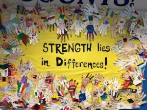 Strength lies in our differences not similarities.