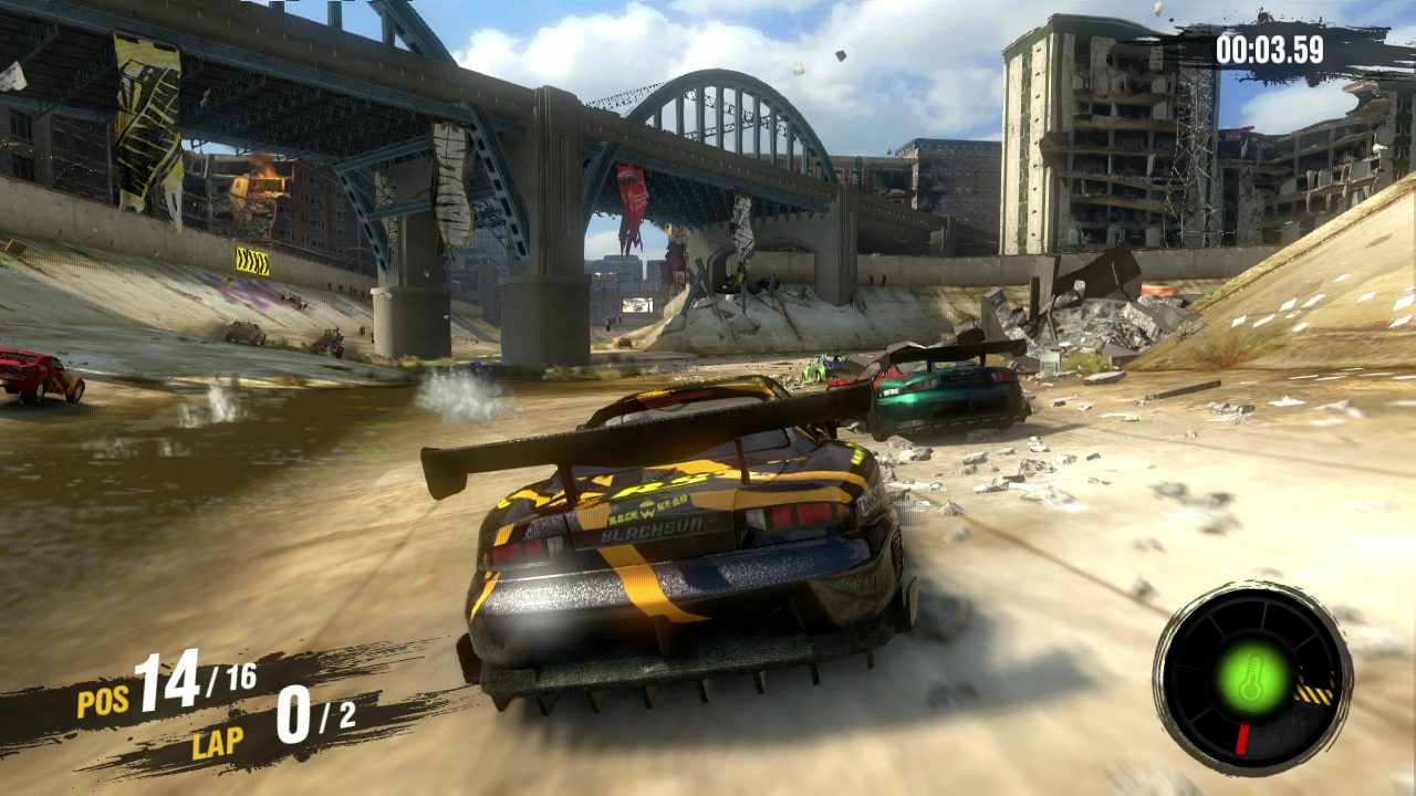 MotorSport: Apocalypse,  Evolution Studios, Sony Interactive Entertainment, 2011