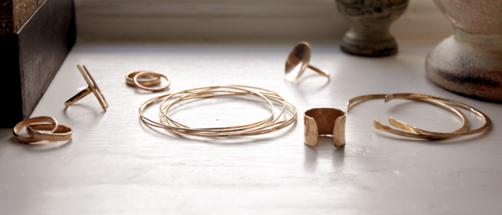 Ilsa Loves Rick jewelry  is an artisan metals project launched in 2011. Made by hand in small batches in Bucks County, Pennsylvania, the designs take into consideration the delicate tension between modern detail and classic shapes. The brand takes its name from the iconic characters in the film Casablanca, a timeless classic and powerful story about passion and individuality.