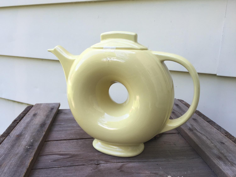 Vintage hall teapots