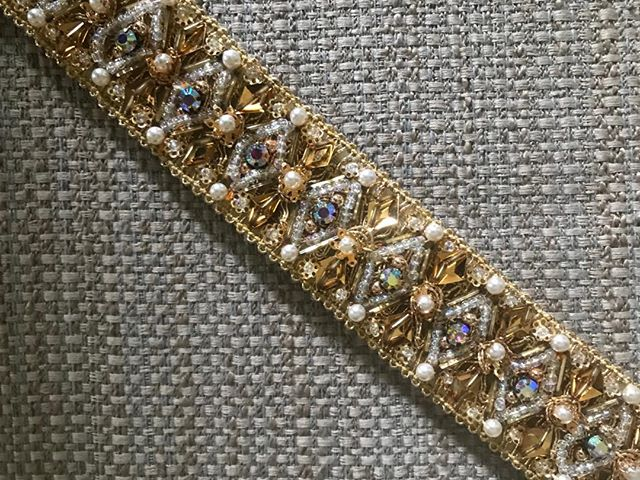 #50s style #60s style #beaded #sequined #dazzle #boho chic #glimmerglassantiques.com