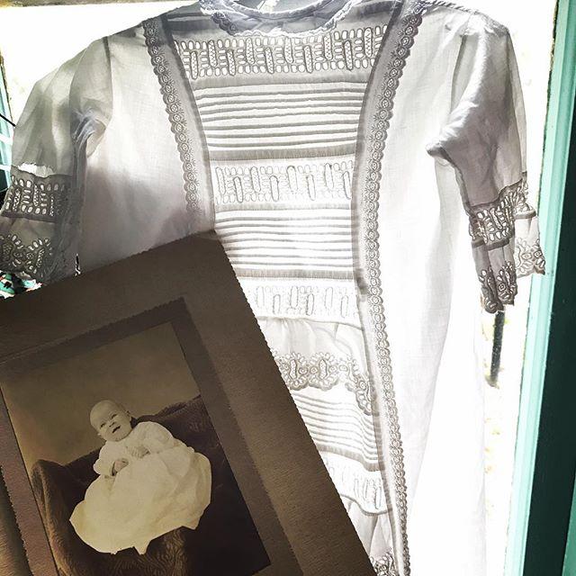 #vintageclothing #christening gown #babyshower #vintagephotography #glimmerglassantiques