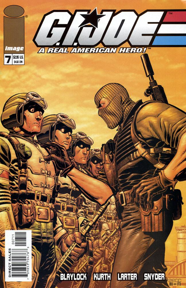 G. I. Joe #7, 2002