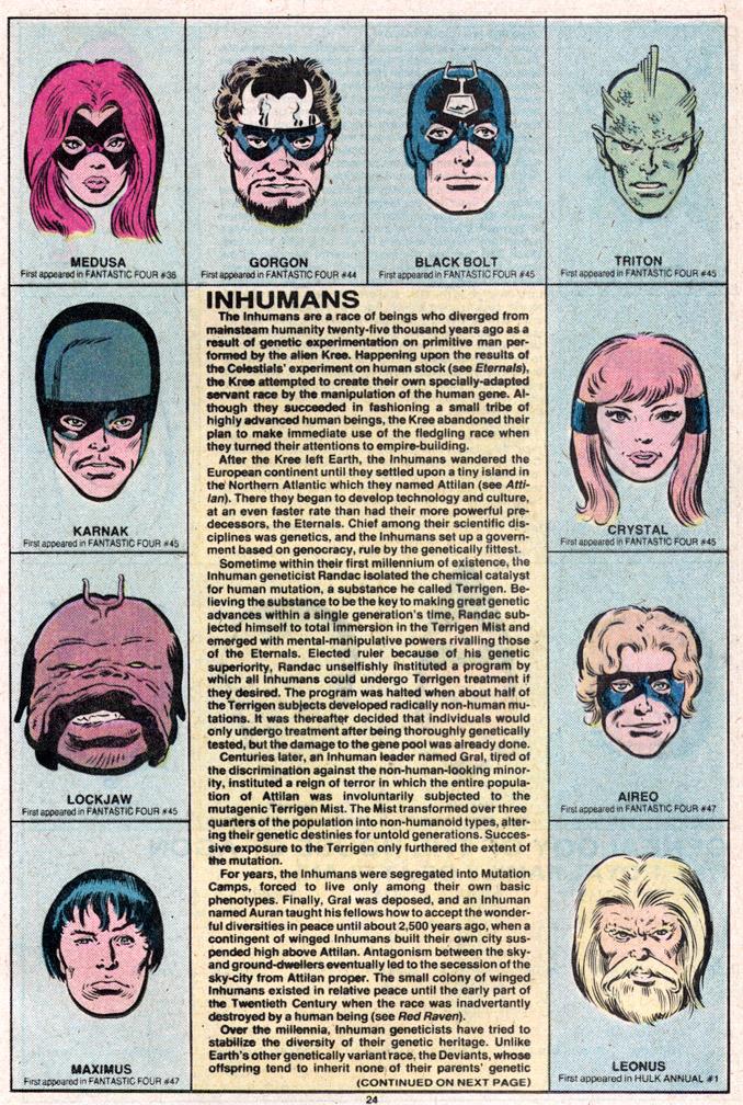 Inhumans 1 of 2