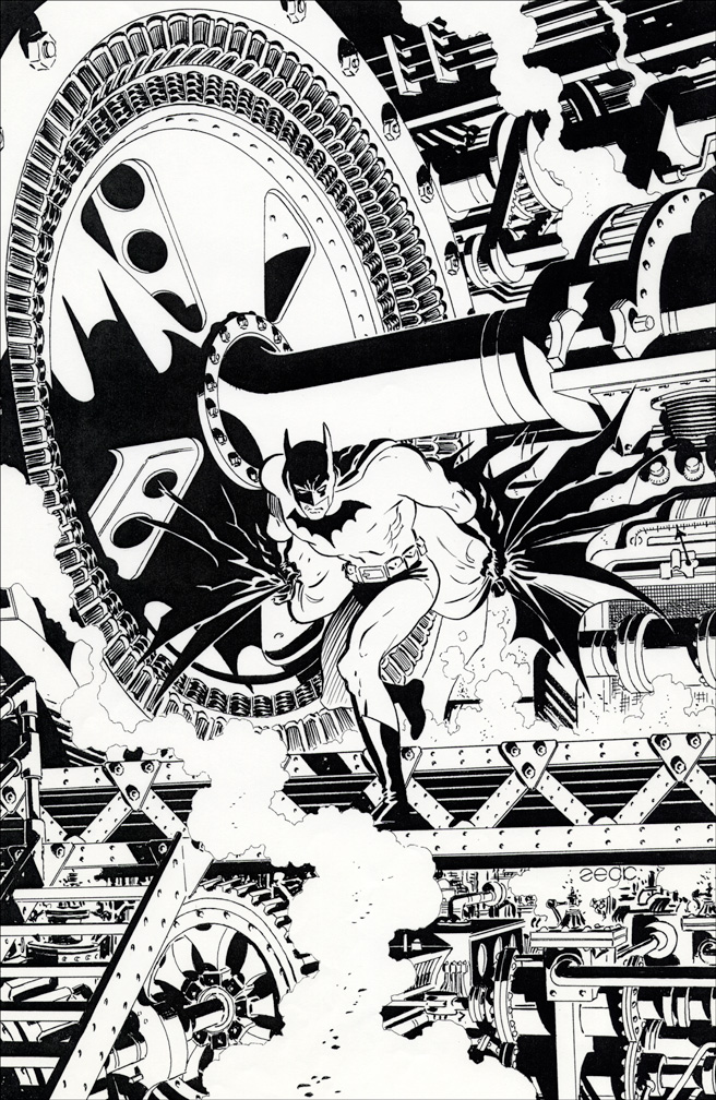 Batman: LODK #69 inks