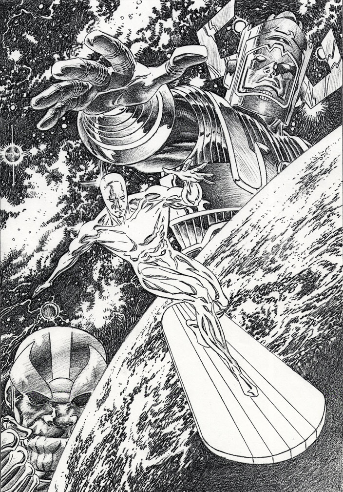 Ultimate Silver Surfer