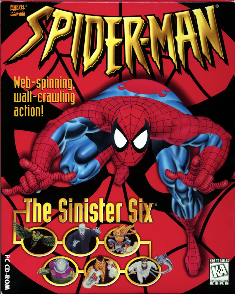 Spider-Man CD ROM