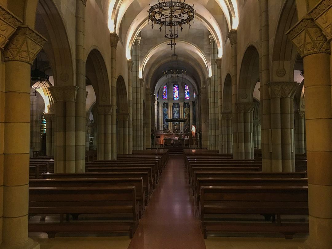 Interior Iglesia de San Pedro