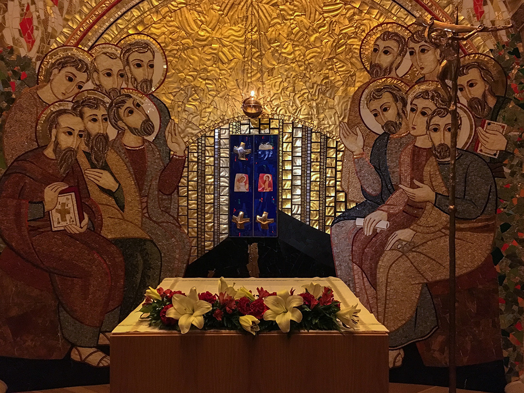 Interior Iglesia de San Pedro.